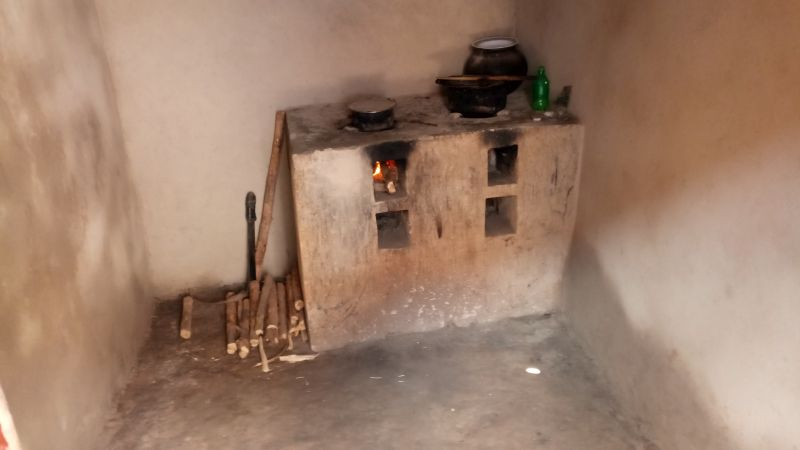 A well maintained RDIS's Improved Cook Stove